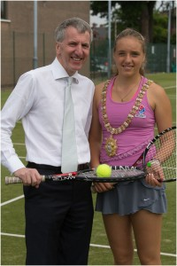 ITF Juniors, Windsor Tennis Club Belfast,  tennis club belfast, Karola,