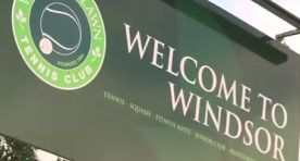 Windsor Reopens for Tennis