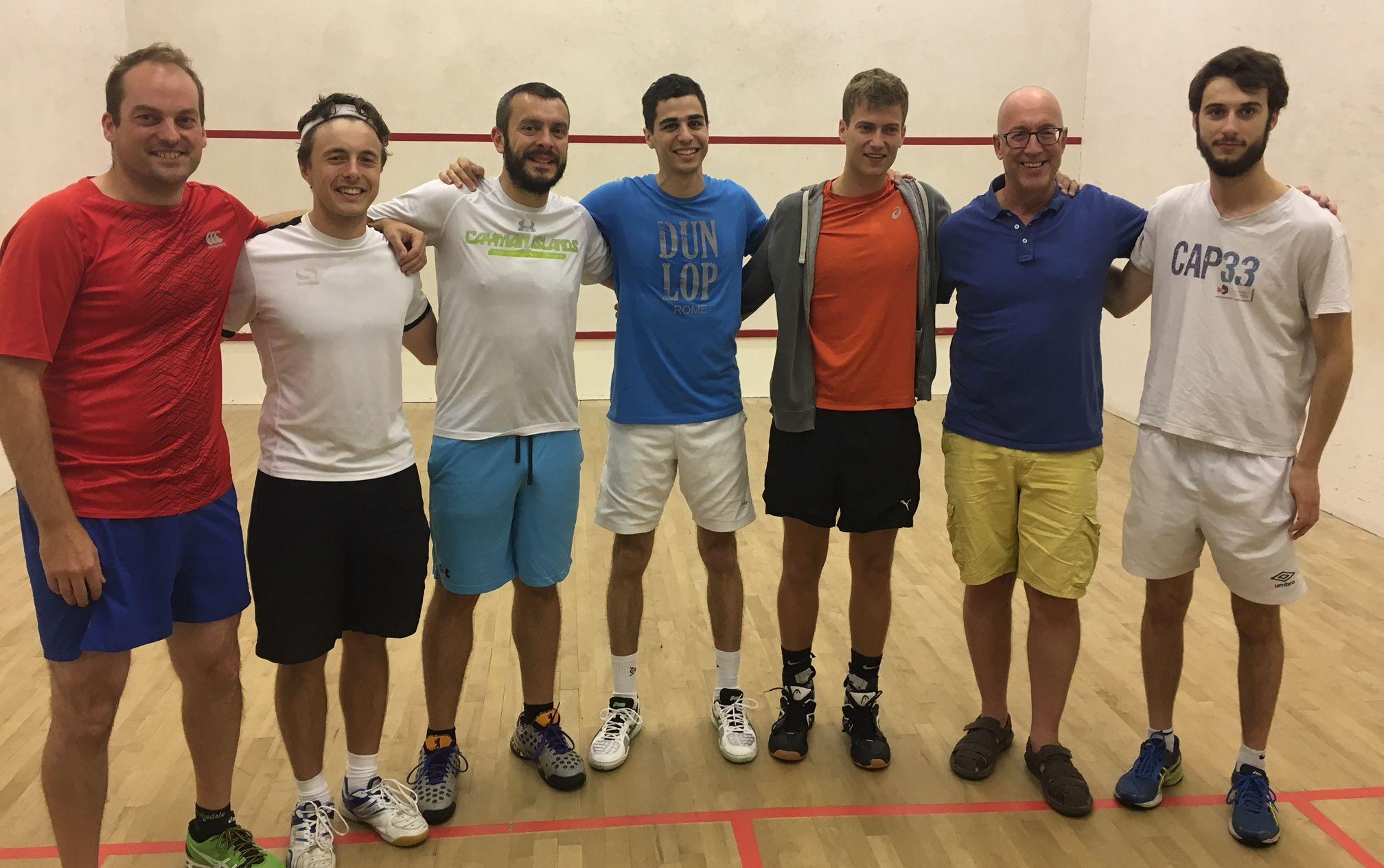 Squash World #2 Ali Farag at Windsor