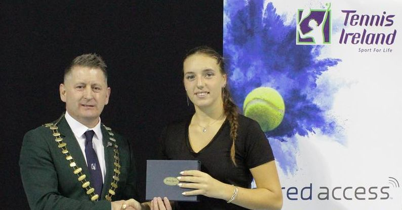 Karola wins National Senior Indoors