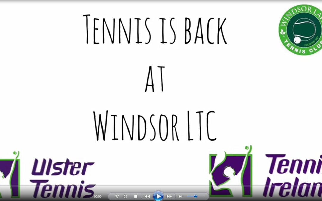 Tennis Back at Windsor!