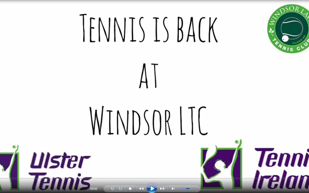 Tennis Back at Windsor!